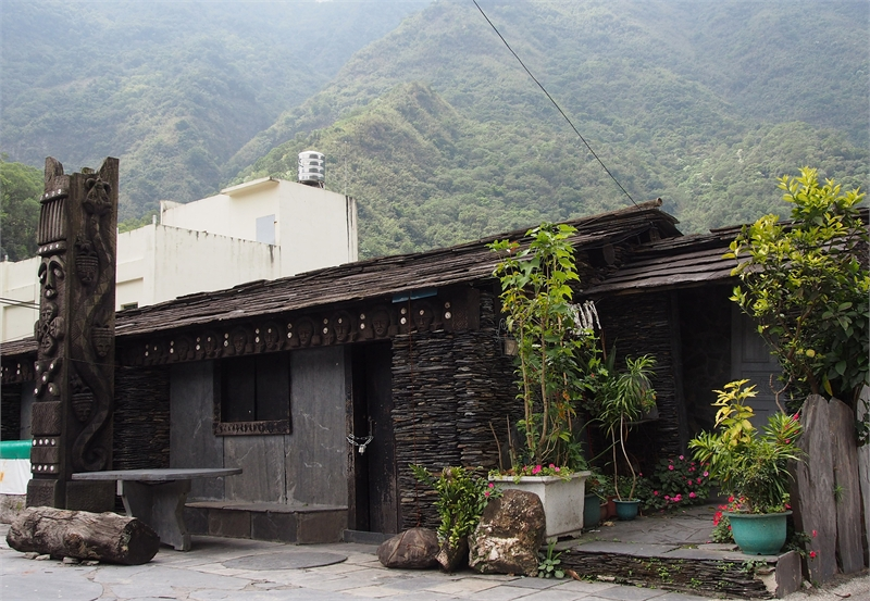 Duona Village's Stone Slab Houses